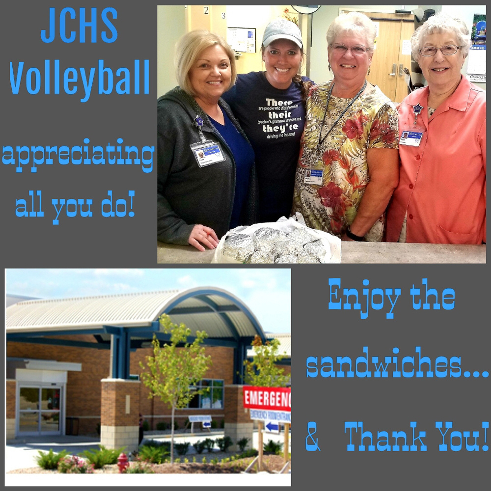 JCHS Volleyball donates breakfast sandwiches
