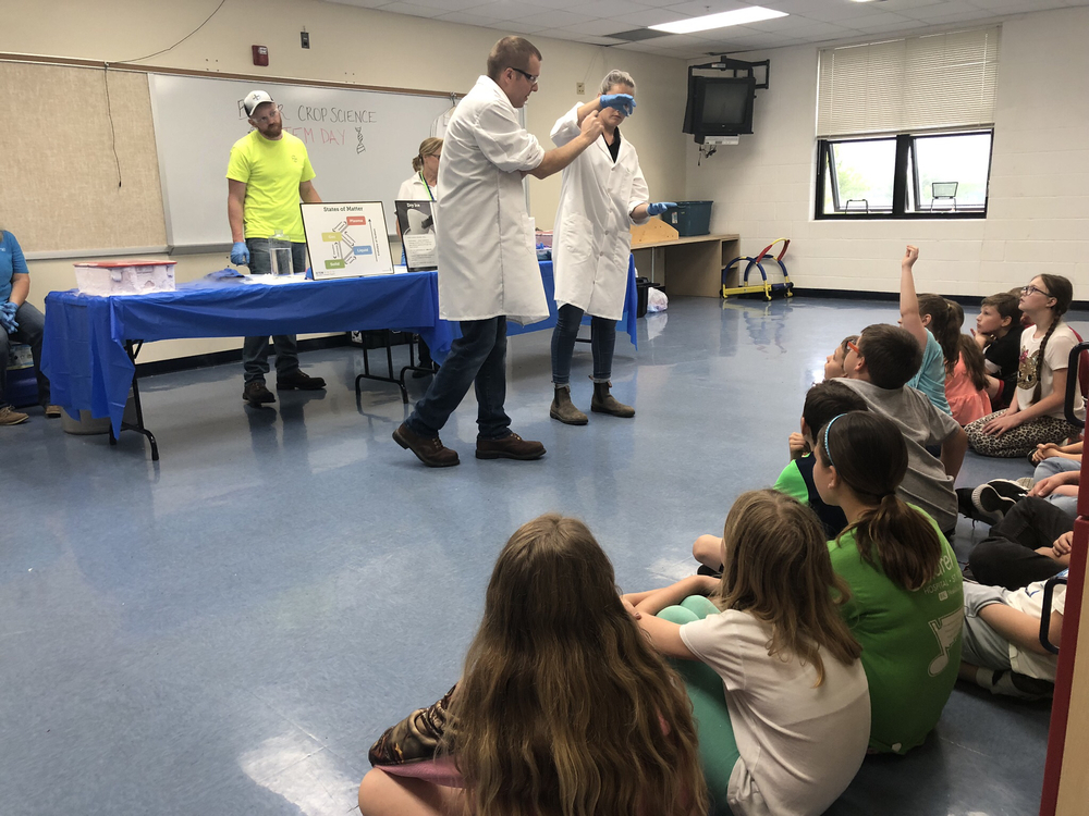 Bayer Crop Science Group STEM Day at Grafton Elementary