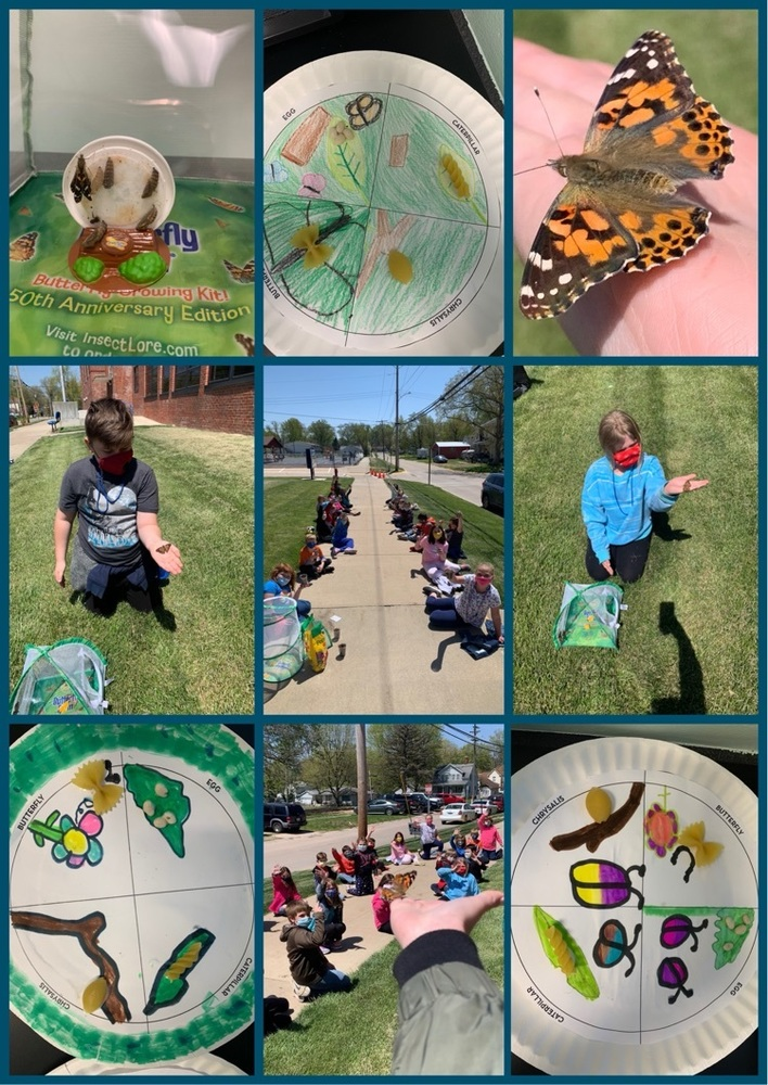 Third Grade Students Celebrate Earth Day.