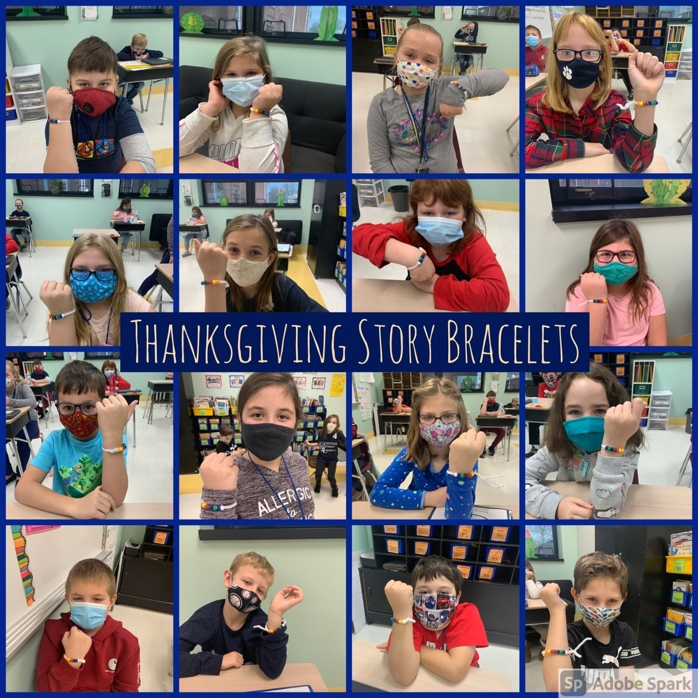 East Elementary 3rd Grade Students Create Story Bracelets
