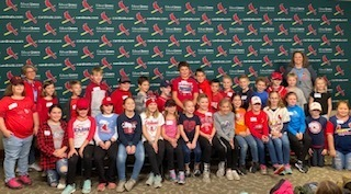 Fourth Grade Students Toured Busch Stadium