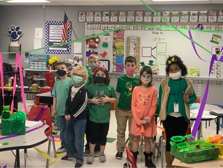 The Sneaky Leprechaun Visits East Elementary