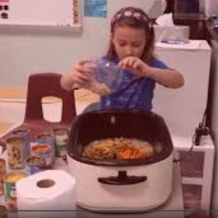 Mrs. Emily Fry's class made their own Stone Soup