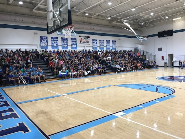 JCMS Fall Sports Assembly and Student/Staff Recognition
