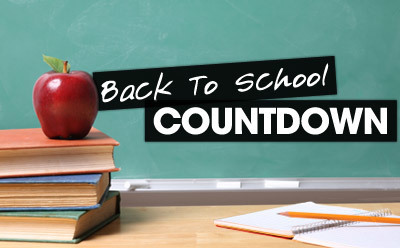 Back to School Countdown featuring Ashley Breitweiser