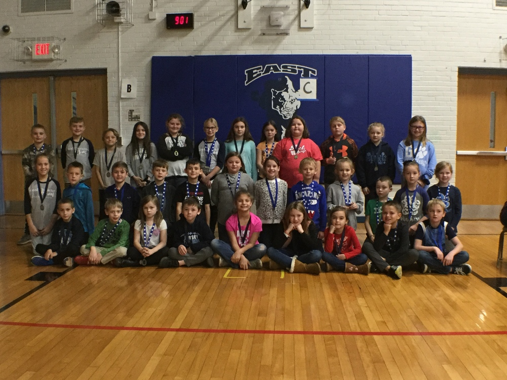 East Elementary December Character Assembly