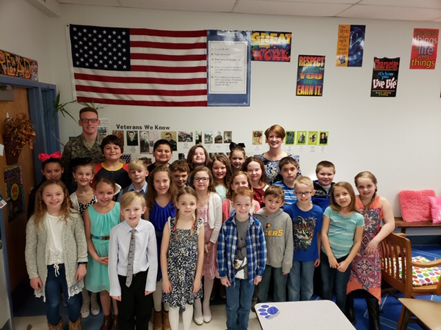 JCHS Graduate Returns to East Elementary