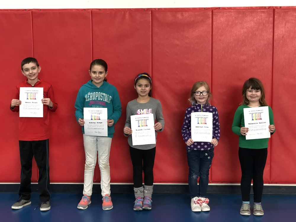 Grafton Citizenship Trait Winners!