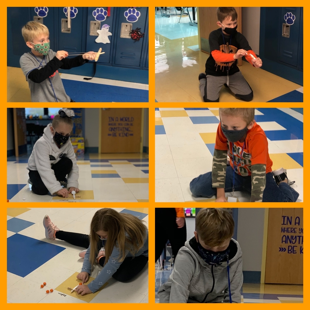 Pumpkin Catapults at East Elementary
