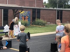 Music Outside at East Elementary
