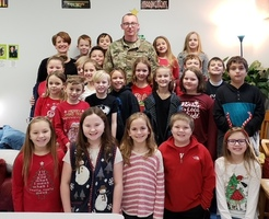 Pen Pal Visits East Elementary
