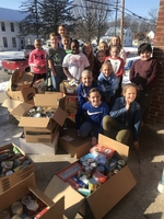 East Elementary Collects fo Salvation Army