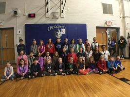 Congratulations to the honesty award winners. We are working on perseverance during the month of March.