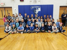 East Elementary October Character Award Winners