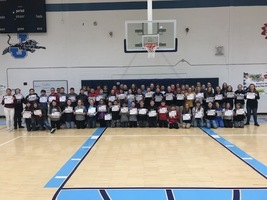 JCMS 7th Grade High Honor Roll
