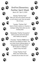 Panther Spirit Week