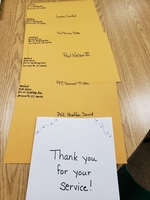 Mrs. Medford's Class Thanks All of Their Pen Pals in the Military.