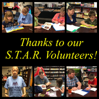 Thanks to our S.T.A.R. Volunteers