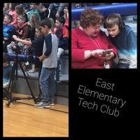 East Elementary Tech Club In Action