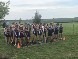 JCMS Cross Country hosts event at Wock Lake
