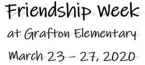 Grafton Elementary Virtual Spirit Week