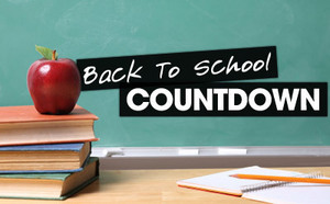 Back to School Countdown featuring Mrs. Goetten