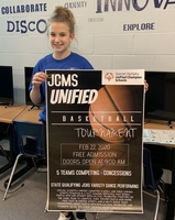 Unified Basketball Tournament Poster Contest Winner