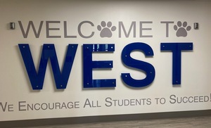 West Faculty and Staff: Thanks for all you do!  - Click on the post to watch the video and see the smiling faces of our students. .