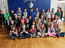 East Elementary Honest Character Award Winners