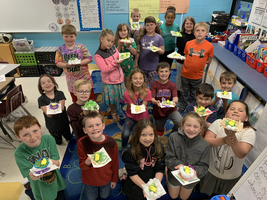 East Elementary Second Grade Students Create Nest For Their Peeps.