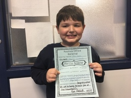 East Elementary 2018-2019 Positive Office Referrals