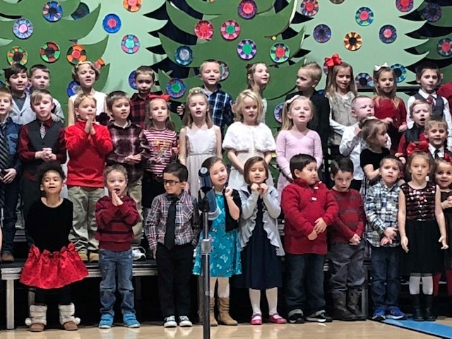 West Elementary Holiday Music Program