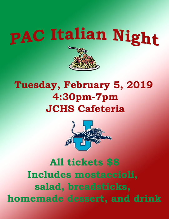 PAC Italian Night