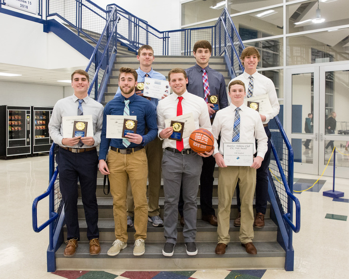 Basketball Banquet Award Winners