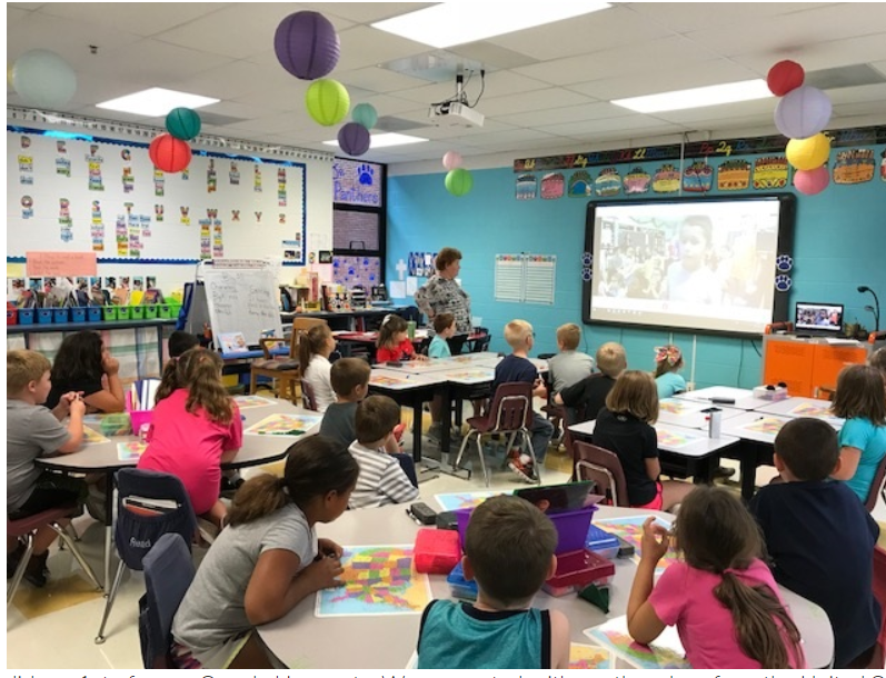 Geography Fun with Mrs. Smith's 2nd Grade Class