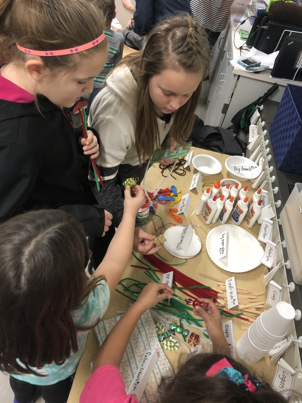 Kindergarten and 5th Grade Students Work Together to Catch an Elf